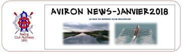 titre Aviron News-janvier 2018